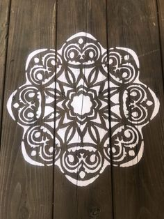 How to remodel a camper trailer easy and cheap / Find the best tips here. Stencil Decor, Stencil Wood, Stencil Painting, Cricut Stencils, Paint Stencils, Flower Stencils, Stenciling, Adhesive Tiles, Vinyl Tiles
