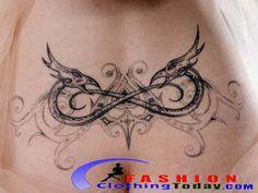 celtic/welsh knotwork dragon tattoo