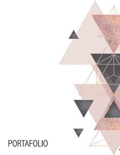Portfolio Cover Design, Portfolio Covers, Portfolio Layout, Book Cover Design, Powerpoint Background Design, Poster Background Design, Geometric Background, Geometric Art, Architecture Portfolio