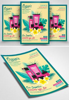 These flyer templates are easy to use and well organized in folders and layers. Graphic Design Blog, Graphic Design Templates, Psd Templates, Keynote Template, Brochure Template, Flyer Template, Brand Guidelines Template, Logo Tutorial, Music Flyer