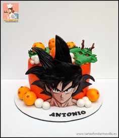 Dragon Ball Z, Food Videos, Cake Ideas, Bowser, Disney Characters, Fictional Characters, Animation, Foods, Cakes