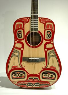 Killerwhale Larrivee Guitar by Lyle Wilson