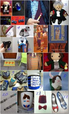 22 Doctor Who crafts featuring each Doctor