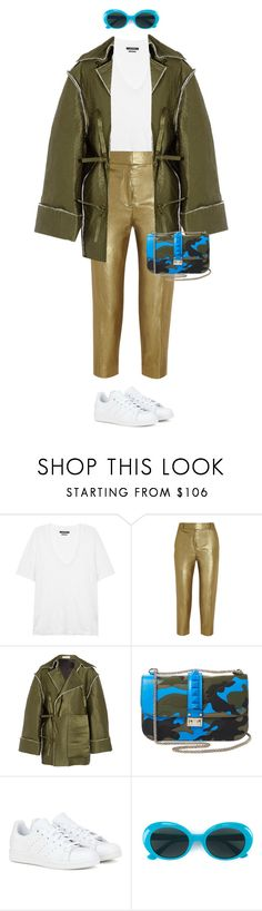 """""""Susie"""" by drizzle5 ❤ liked on Polyvore featuring Isabel Marant, J.Crew, J.W. Anderson, Valentino, adidas and Yves Saint Laurent"""