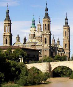 Church of the Pillar, Zaragoza, Spain - One of my favorite Spanish sites and city!