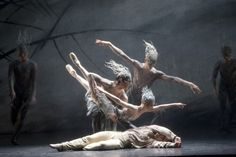 Birmingham Royal Ballet - Le Baiser de la fée, based on Hans Christian Andersen's The Ice Maiden.