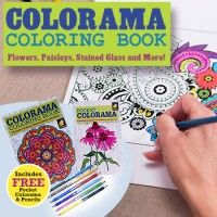 As You Saw On TV Colorama Coloring Book Is The Gorgeous New That