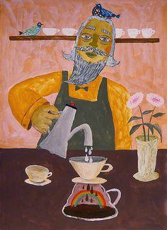 Rainbow Coffee by Tetsuhiro Wakabayashi