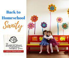 Back to Homeschool Sanity: The Homeschool Sanity Show Podcast