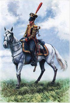 RUSSIA - Russian Lifegarde Uhlan Bugler, 1812