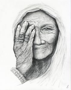 Hey, I found this really awesome Etsy listing at https://www.etsy.com/listing/179706120/portrait-drawing-pencil-old-lady-woman