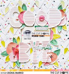 Goodbye - DT layout for The Cut Shoppe using Fancy Free Scrapbooking Layouts, Scrapbook Pages, Mini Albums, Thankful, Grateful, About Me Blog, Fancy, Crafty, Paper