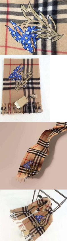 Wraps and Jackets 105472: 2017 Autumn And Winter Classic 100% Genuine Burberry Cashmere Scarf. -> BUY IT NOW ONLY: $149.49 on eBay!