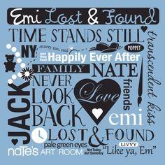 Emi Lost & Found collage t-shirt