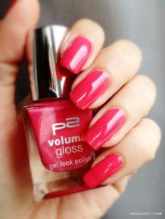 Vernis P2 volume gloss rose 6