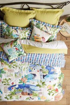 Rebekah Maysles Spice Island Quilt #anthrofave #anthrofave
