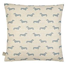 Emily Bond Dachshund Cushion // When I move I want to get a Dachshund or a Jack Russell