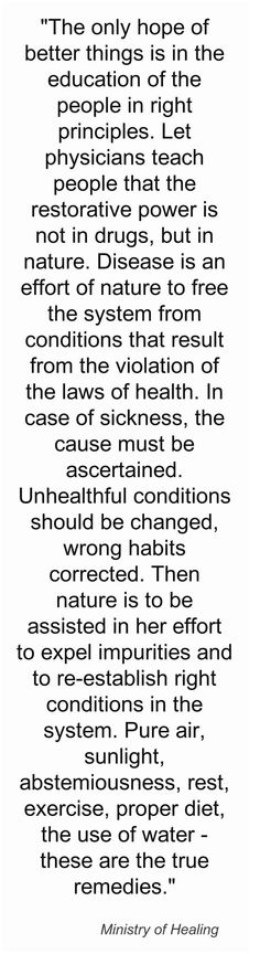 Natural health quotes courtesy of Healing Dives, Inc.  http://www.healingdives.com