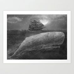 Far From Nantucket  Art Print by Terry Fan - $18.00