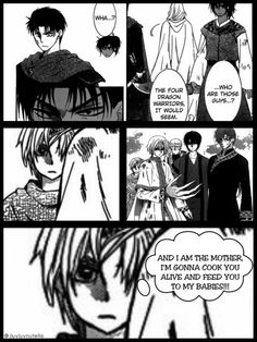 """Yona of the Dawn, """"don't you ever touch my babies!!!"""" - just wanna..."""