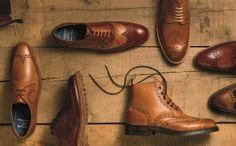 Brogue shoes and boots
