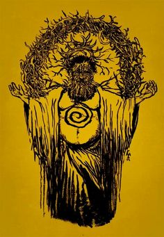 True Detective - ''Behold The Yellow King of Carcosa'' - artist unknown ----