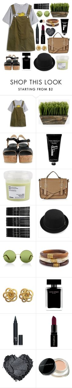 """you're the judge, oh no, set me free"" by skittlebum ❤ liked on Polyvore featuring BOSABO, TokyoMilk, Davines, Topshop, Monki, Victoria, Victoria Beckham, Chico's, Narciso Rodriguez, Smashbox and Marc Jacobs"