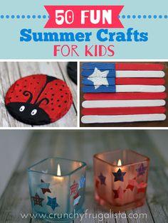 50 Fun Summer Crafts For Kids