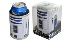 OK, so I am not as big of a Star Wars geek as a lot of my friends and I do not often drink from a can, but this is really cool.