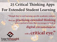 """There are many apps that do promote critical thinking--and often extended critical thinking and learning at that. These aren't clinical """"critical thinking building"""" programs either, but rather often enjoyable exercises in strategy, tactics, and problem-solving thought."""