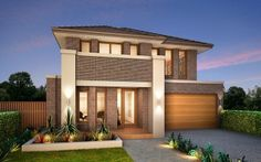 Metricon Home Designs: The Laguna - Oakpark Facade. Visit www.localbuilders.com.au/builders_nsw.htm to find your ideal home design in New South Wales