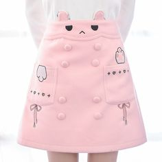 Pink cute bunny skirt