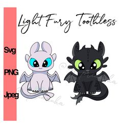 Toothless Light fury svg for cricut, Night fury svg layered, How to train your dragon Svg for cricut. Clipart Coloring Cartoon baby dragon by PrimankaShop on Etsy Toothless Dragon Tattoo, Baby Toothless, Dragon Tattoo Drawing, Cute Dragon Drawing, Chibi, Valentine Boxes For School, Night Fury Dragon, Cartoon Dragon, Black Cat Tattoos
