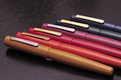 Nakaya fountain pens.