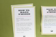 S'more Wedding Favor Quotes | DIY: S'mores Kits