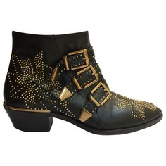 Chloe Black Suzanna Boots