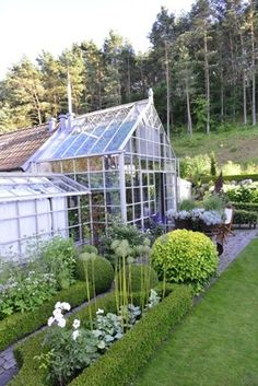 Greenhouse landscape from Claus Dalby on Kivik. He called it a Jewel Box.
