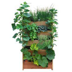 potager vertical vegetalise, potager-de-balcon.com