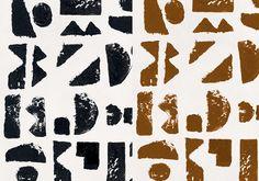 papier peint imprimes noirs