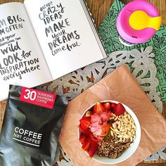 Follow us on Instagram @coffeenotcoffee www.coffeenotcoffee.com.au Raspberry Ketone Coffee for weight loss and health boost!