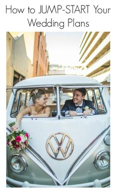 5 Ways to Jump-Start Your Wedding Plans - http://themanregistry.com/groom-101/how-to-jump-start-your-wedding-plans/