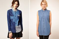 double denim From Baggy Overalls To Green Jeans, We Get Inspired By A Crazy 1980s Denim Fashion Show Video