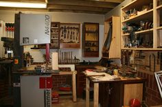 This began as a cabinet to house rasps and files. Tool Bench, Shop Class, Fine Woodworking, Liquor Cabinet, Easy Diy, Storage, Knots, Wood Shops, House