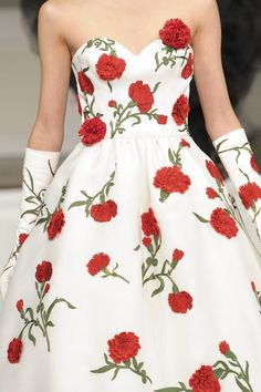 The perfect Alpha Chi Omega dress....carnations!