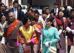 Japanese Princess Mako arrived in Paro, Bhutan