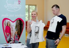 Olga Borys i Wojciech Majchrzak w showroomie Smallbig