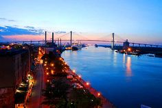 River Street Savannah GA | Savannah Photos | Savannah Pictures | Historic Tours of America
