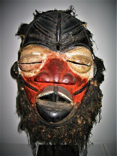 Wé, Chanteur mask, Ivory Coast African Masks, Ivory Coast, Headdress, Superhero, Fictional Characters, Art, Singer, Fascinators, Fantasy Characters