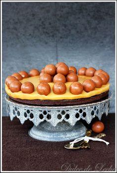 """Dulce de Leche: Čokoládovo karamelová torta """" Lindor"""""""