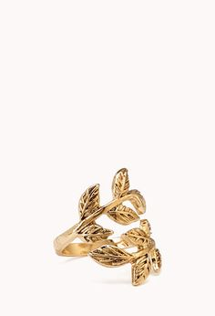 Down To Earth Leaf Ring | FOREVER 21 - 1000090092